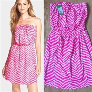 NWT Lilly Pulitzer dress in Zebron pattern